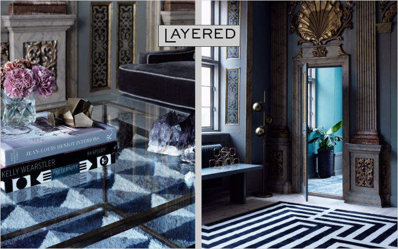 LAYERED Modern rug Modern carpets Carpets Rugs Tapestries  |