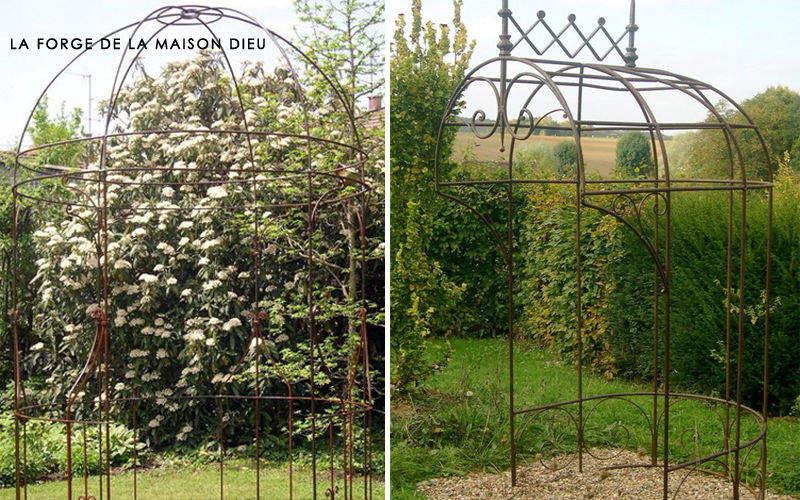 La Forge  de La Maison Dieu Pavilion Huts and gazebos Garden Gazebos Gates...  |