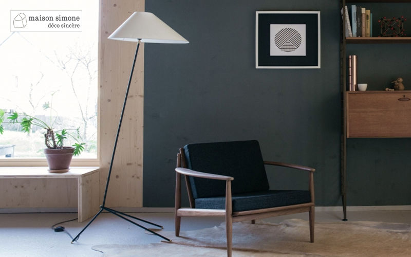 MAISON SIMONE Trivet floor lamp Lamp-holders Lighting : Indoor  |