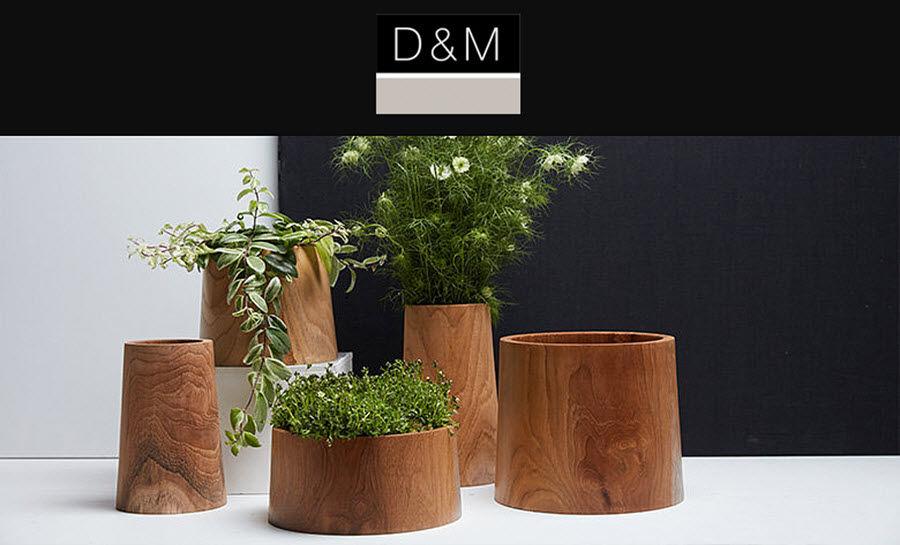 D&M DEPOT Plant-pot cover Flowerpots Garden Pots  |