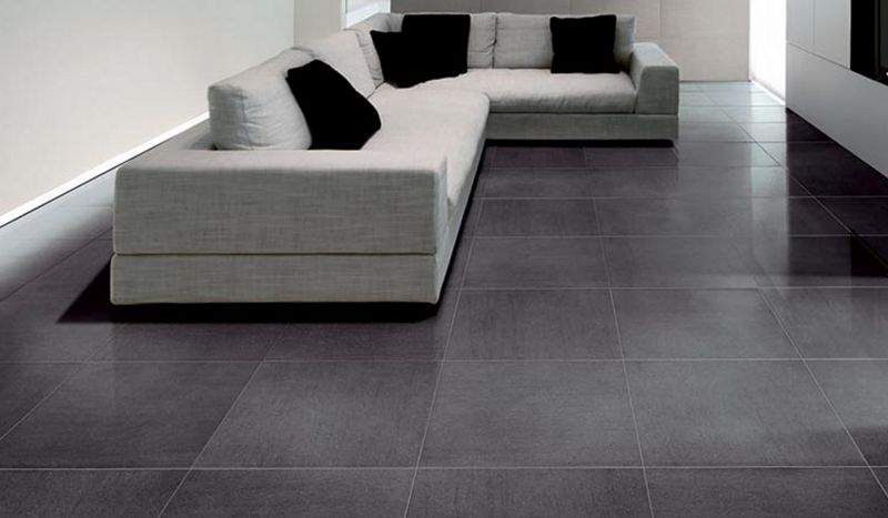 SOLUS CERAMICS Large sized floor tile Floor tiles Flooring  |