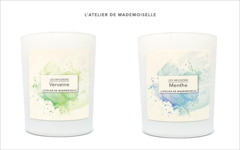L'ATELIER DE MADEMOISELLE Scented candle Scents Flowers and Fragrances  |