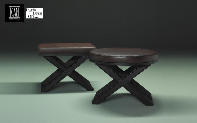 Ecart International X-shaped stool Footstools and poufs Seats & Sofas  |