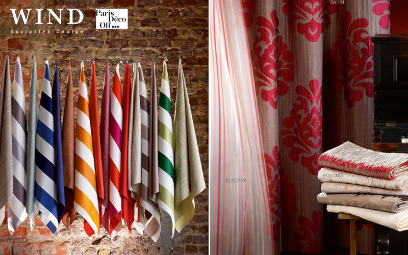 Wind Fabric by the metre Furnishing fabrics Curtains Fabrics Trimmings   