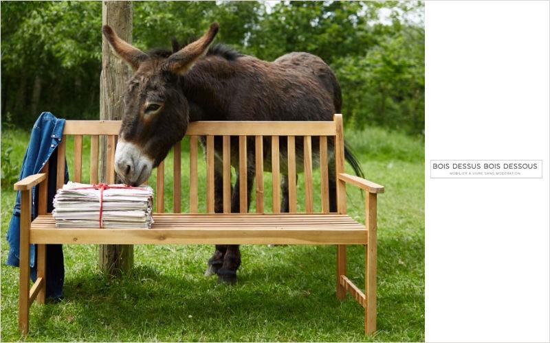 BOIS DESSUS BOIS DESSOUS Garden bench Garden seats Garden Furniture  |