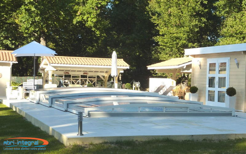 Abri-Integral Sliding/telescopic pool enclosure Swimming pool covers Swimming pools and Spa  |