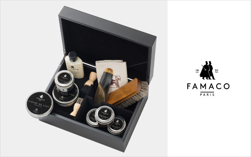 FAMACO PARIS Shoe polishing kit Maintenance products DIY  |