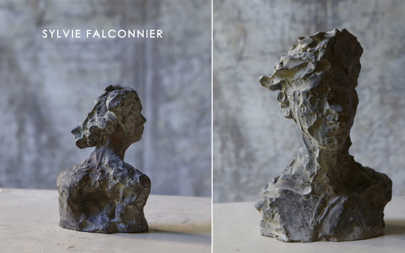SYLVIE FALCONNIER Bust sculpture Statuary Art  |