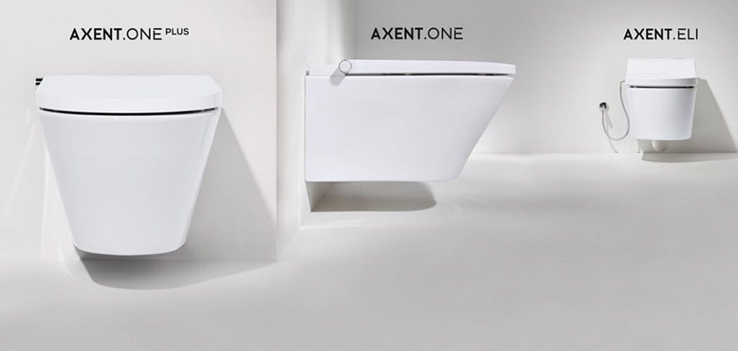AXENT INTERNATIONAL Wall mounted toilet WCs & wash basins Bathroom Accessories and Fixtures  |