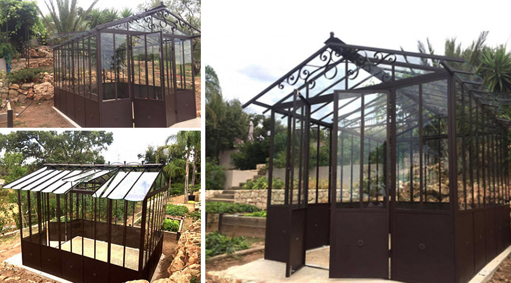 Fd Mediterranee Greenhouse Locks Garden Gazebos Gates...  |