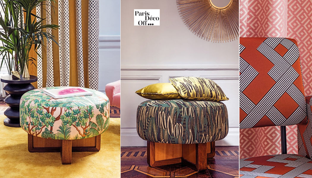 Manuel Canovas Furniture fabric Furnishing fabrics Curtains Fabrics Trimmings  |