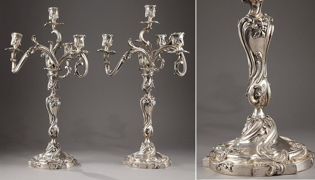 OUAISS ANTIQUITES Candelabra Candles and candle-holders Decorative Items  |
