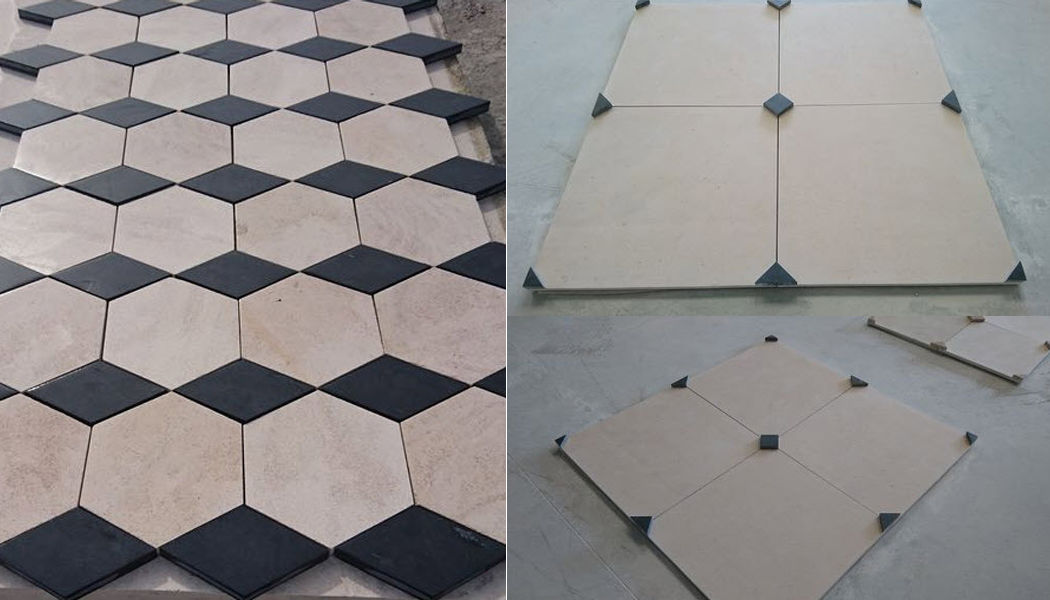 Sols  Pierre & Marbre Stone tile Paving Flooring Dining room | Classic