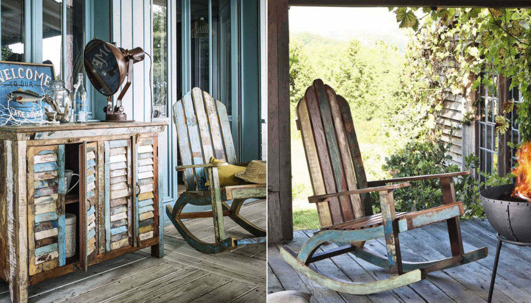 MAISONS DU MONDE Adirondack Outdoor armchairs Garden Furniture  |