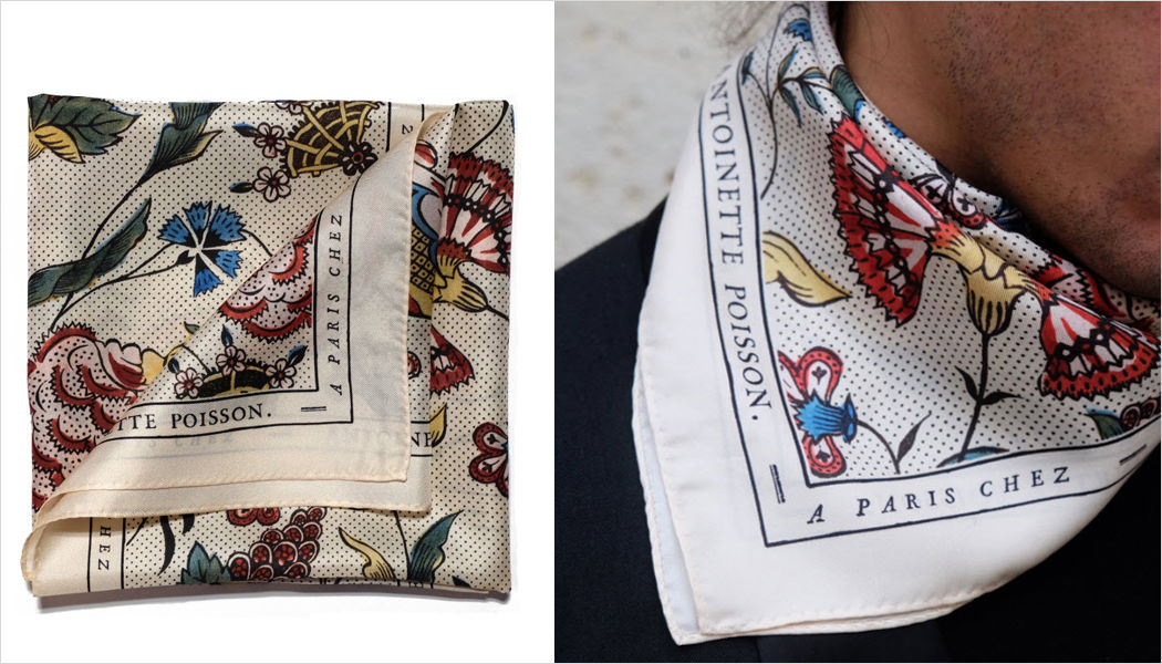 ANTOINETTE POISSON Square scarf Clothing Beyond decoration  |