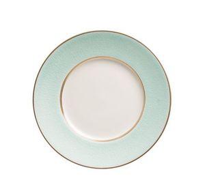 Jaune De Chrome - 'craquelé givre - Dessert Plate