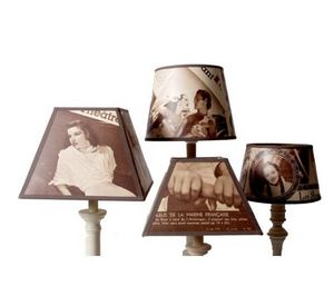 Custom-made lampshade