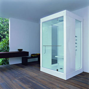 Hydromassage shower enclosure