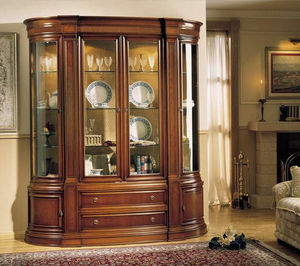 Muebles Cercós Curved display cabinet