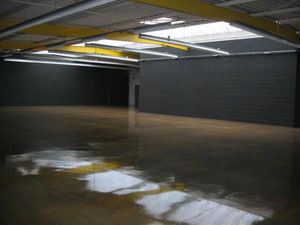 Cast flooring