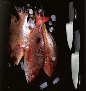 Fish knife and fork set