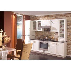 MOINS CHER CUISINE - ela blanc cérusé - Built In Kitchen