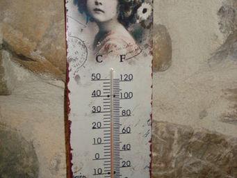 au petit coeur d'amour - fillette - Thermometer