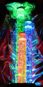 ALD CONCEPTS - colonnes bulles triples - Water Lamp