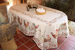 Les Tissages du Soleil - la ferme - Conference Table Cover