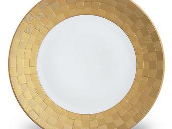 L'OBJET - byzanteum gold dinnerware - Dinner Plate