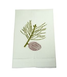 Siecle Paris - branche de pin - Guest Towel