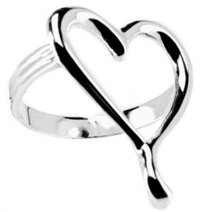 Maisons du monde - rond de serviette coeur - Napkin Ring