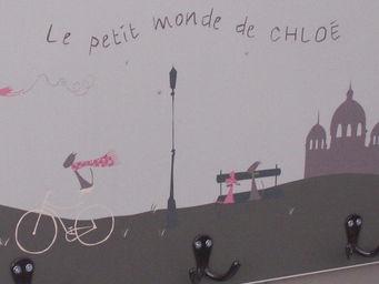 ICI LA TERRE - patère enfant triple paris - Children's Clothes Hook