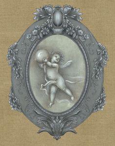 APOLONY -  - Decorative Painting