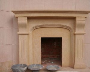 C2nt - regence - Fireplace Mantel