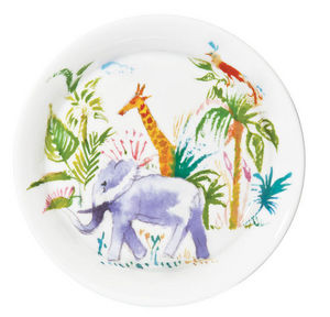 Haviland - baby jungle - Child Plate