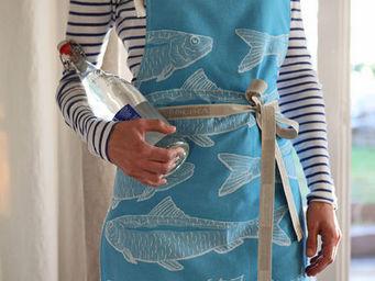 Jean Vier - arnaga sardines - Kitchen Apron