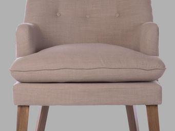 BLANC D'IVOIRE - sofia naturel - Armchair