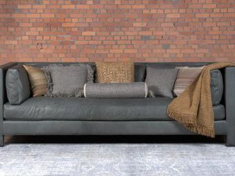 EVOLUTION21 BY KARINE BONJEAN - anthony luxury leather - 3 Seater Sofa