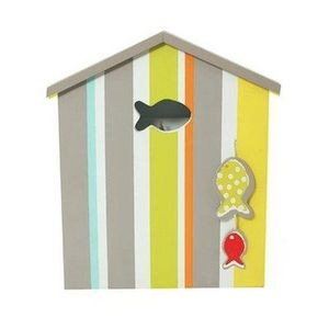 FAYE - boîte à clés plage - Key Cupboard