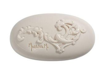 Mathilde M - savon ovale arabesque, parfum marquise - 100 gr - - Bathroom Soap
