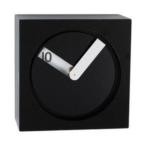 La Chaise Longue - réveil cache-cache noir - Alarm Clock