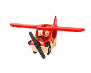 BRIO - biplan - Wooden Toy