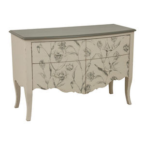 INTERIOR'S - commode 2 portes clair obscur - Chest Of Drawers