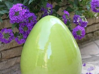 Les Poteries D'albi - oeuf - Decorative Egg