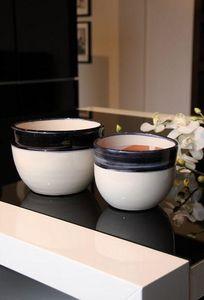 Les Poteries Clair de Terre - yin yang= - Plant Pot Cover