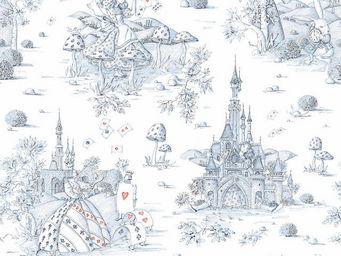 THEVENON - -au pays des merveilles - Upholstery Fabric