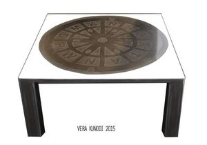 Vera Kunodi - manhattan - Square Coffee Table