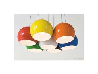 Kare Design - suspension calotta colore - Hanging Lamp