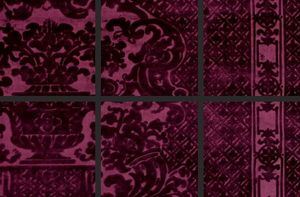 Andre du Dauphiné by Art & Decor - diva gauffrage - Upholstery Fabric